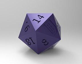 3D print model polyhedron