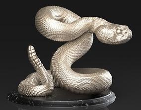 3D print model Crotalus Snake