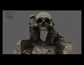 chapel skull cave 3D model VR / AR ready
