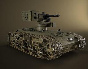 Propelled turret 3D model