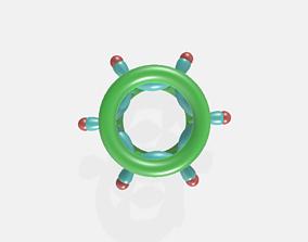 Benzene Orbital hybridisation 3D