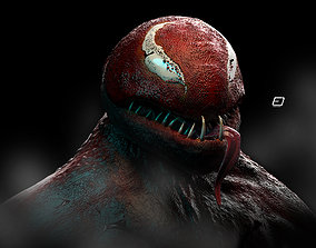 Red Riot Venom 3D model