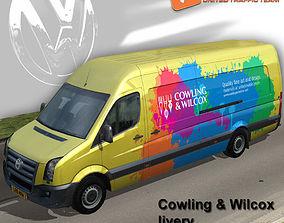 3D asset Volkswagen Crafter Cowling Wilcox