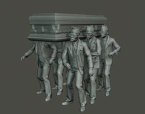 3D printable model Dancing coffin meme