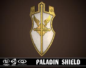Paladin Shield 3D asset