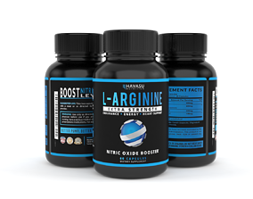 Extra Strength L Arginine - 1200mg Nitric Oxide 3D model