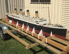 RMS Titanic GIANT 4 meter 3d printable remote