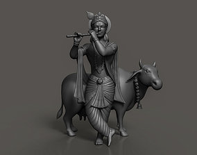 spritual 3D printable model Lord krishna