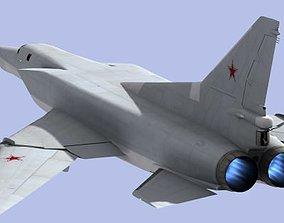 3D asset Tupolev Tu-22M3 strategic bomber