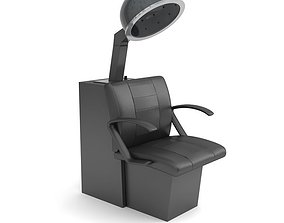 Beauty Salon Chair 3D