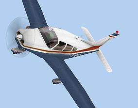 3D asset Piper Warrior II