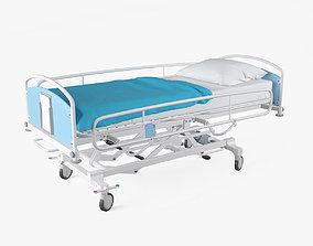 Hospital Bed 3D model mobile
