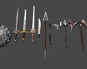 Cold Weapon Pack 3D asset