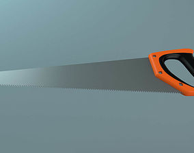 Hand Saw 3D model realtime
