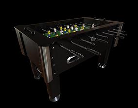 3D model Foosball game table