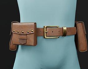 Belt pouches kit 3D