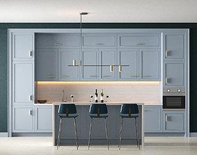 modern 3D Kitchen 1