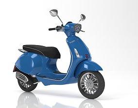 3D model Vespa Sprint Blue