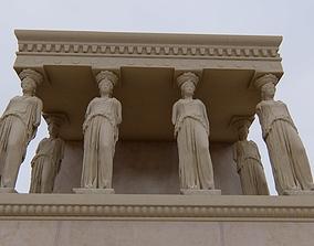 column Caryatid 3D