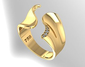 3D printable model ring fashion and