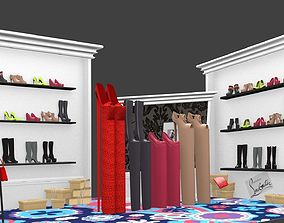 3D model The cartoon boutique