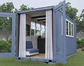 3D Container House shipping-container-house