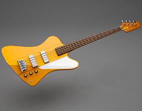 guitar thunderbird 3D model