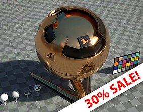 Gold - VRay shader 3D model