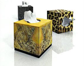 Tissue boxes 3D asset