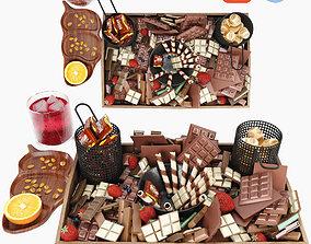 Chocolate Board 3D model