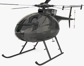 MD Helicopters MD 500 3D