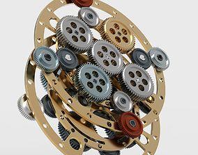 3D Gear mechanism v 3