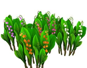 3D model FLower Convallaria majalis