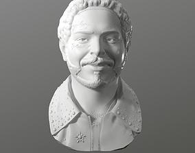 Post Malone 3D printable model