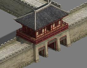 City Gate - City Wall - City Cape 01 3D