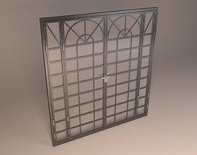 3D model steel door