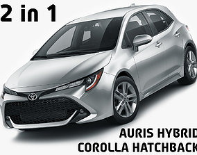 Toyota Corolla Hatchback and Auris 2019 3D