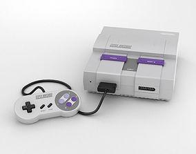 3D model Nintendo SNES