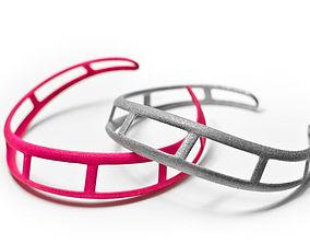 3D printable model Roller Coaster Bracelet
