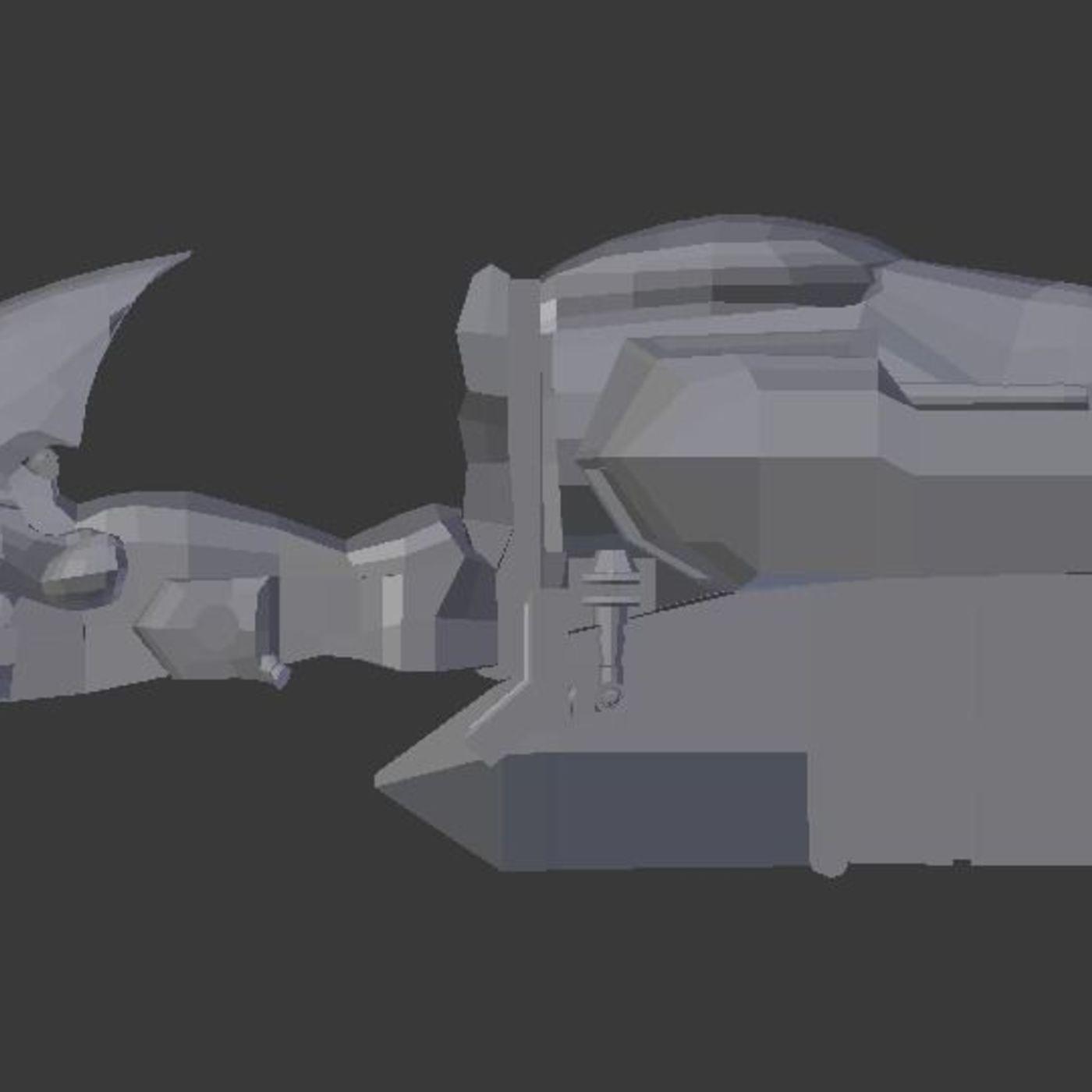 science fiction model