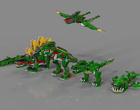 3D Lego Animals pack