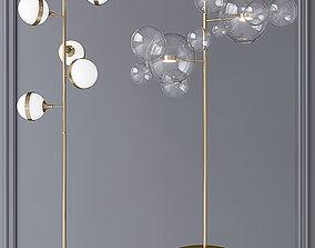 Peggy Guggen Brass Bolle Floor 12 Bubbles 3D