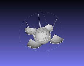 lunar Luna 9 Moon Probe Printable Model