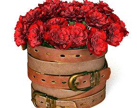 carnations 3D model