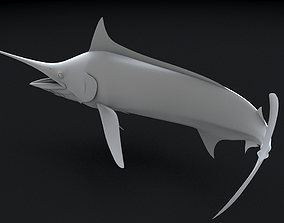Stripped Marlin 3D Printable