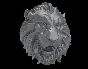 Medallion Lion head 3D printable model