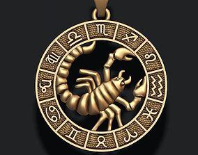 zodiac Scorpion lite 3D print model