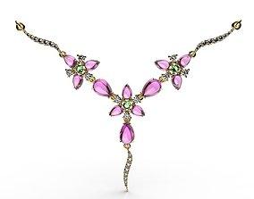 3D print model Necklace Fusion Flowers