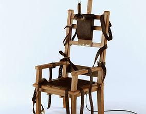 Electric chair hangman 3D