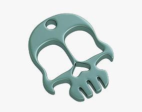 gadgets Knuckles skull 3D printable model